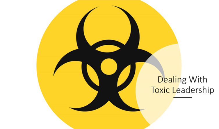 dealing with toxic leadership