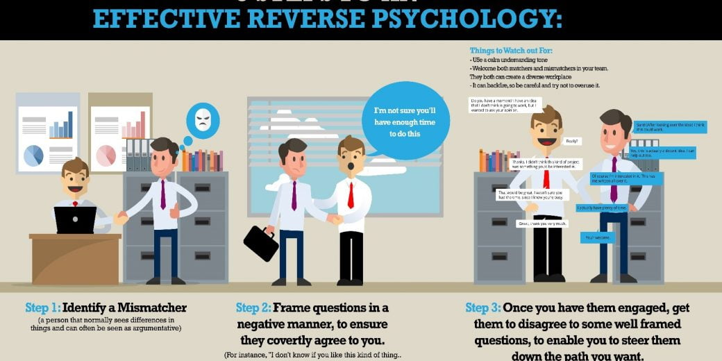 3 Steps to Reverse Psychology