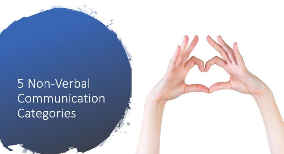 5 Non Verbal Communication Categories