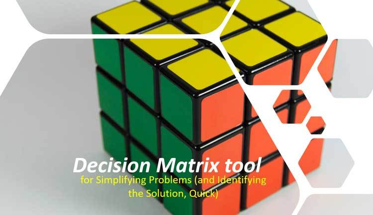 How to Use a Decision Matrix Tool For Better Decisions