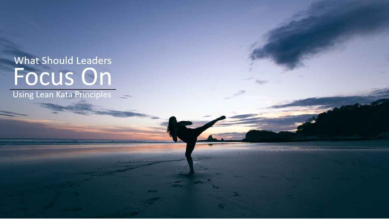 What Should Leaders Focus on? Lessons Learned from Japanese Kata
