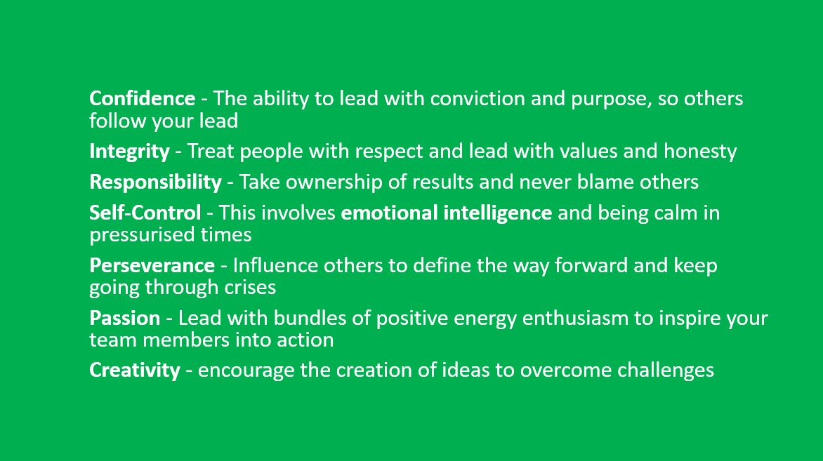 7 qualities of a people centric leader